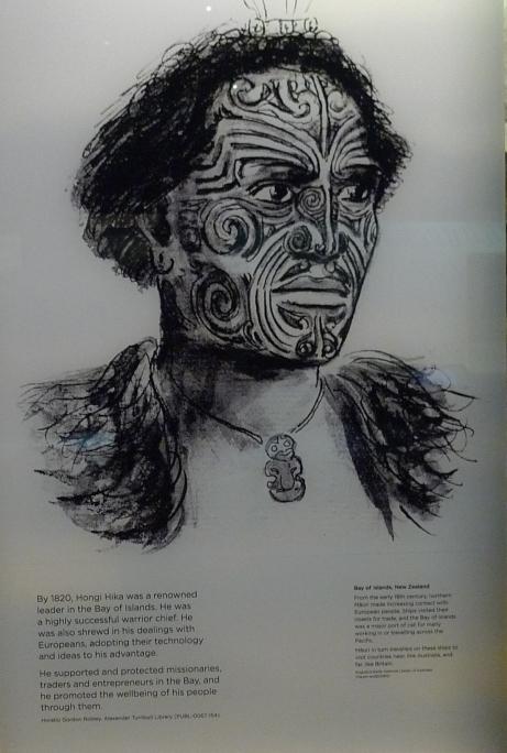 Hong Hika, Maori Leader Bay of Islands