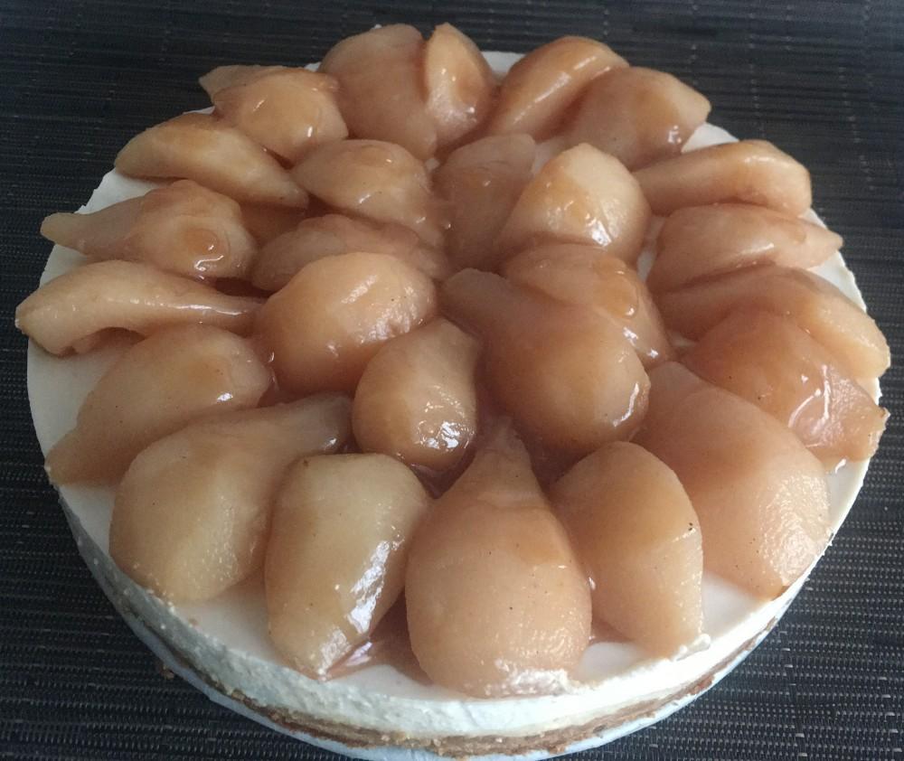 Stoofperen Cheesecake-IMG_4631